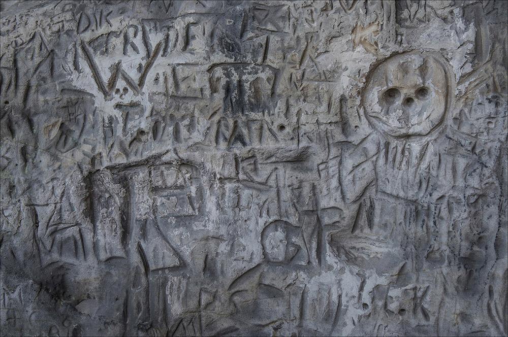 An der Teufelsmauer bei Timmenrode (Landkreis Harz) im Harz.